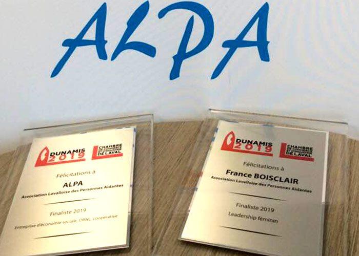 ALPA : deux nominations au Concours Dunamis 2019